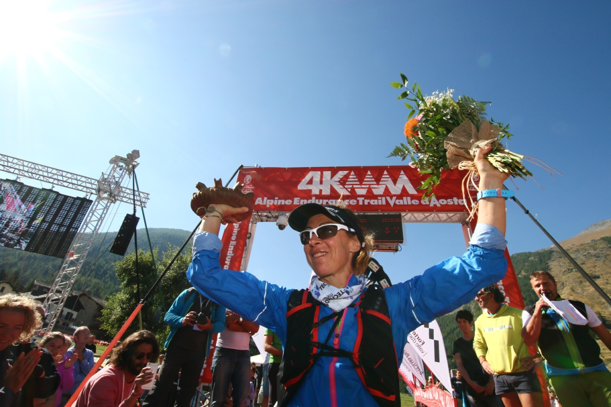 Francesca Canepa regina del 4K Trail