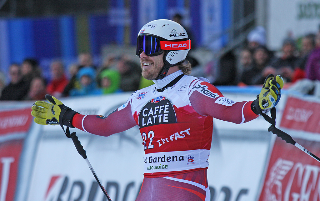 Classifica discesa libera Are: Jansrud iridato e super Svindal d'argento