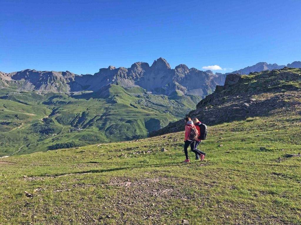 Trekking sulle Dolomiti a Falcade