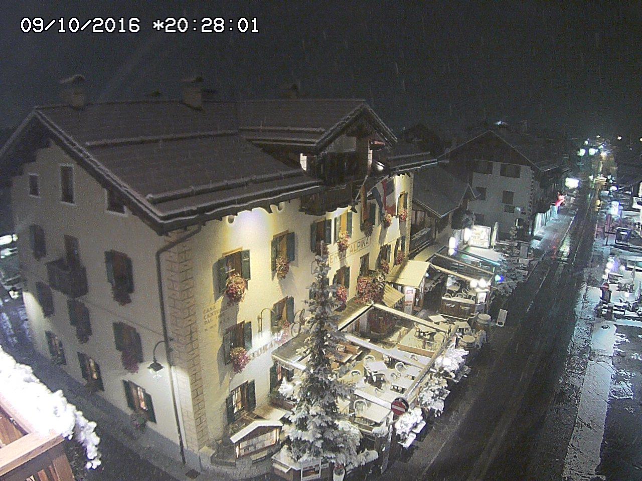 Nevicata a Livigno, 9 ottobre 2016