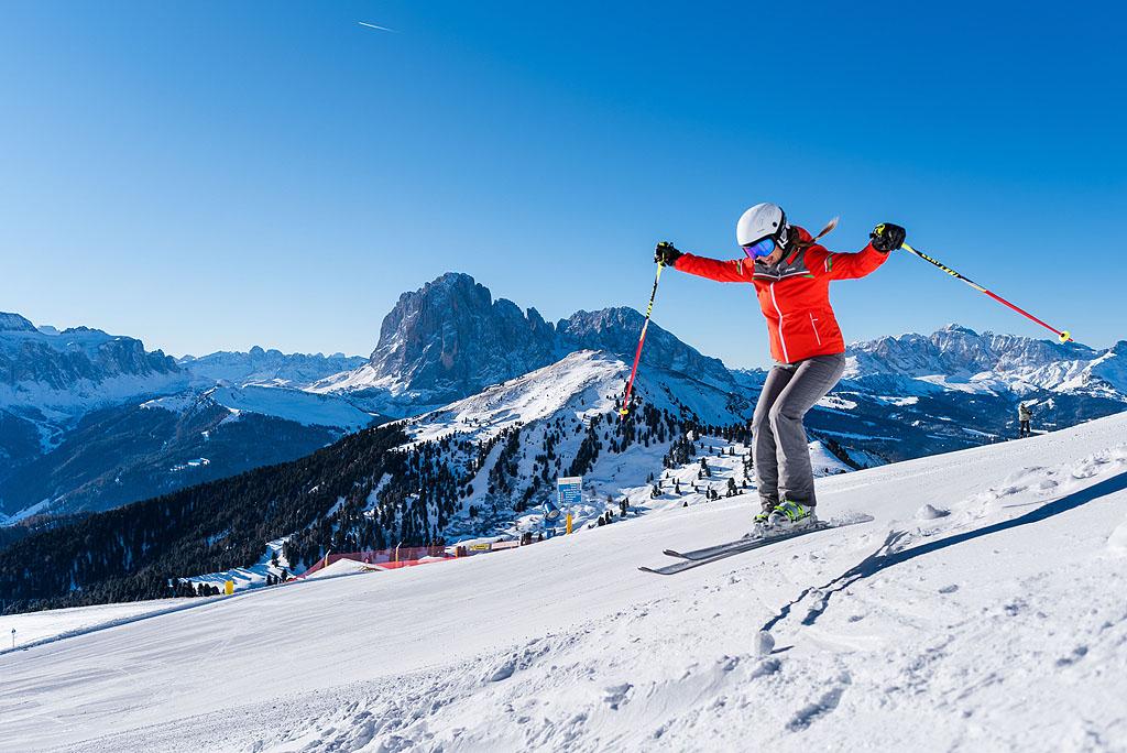 Vacanze per donne sulla neve della Val Gardena