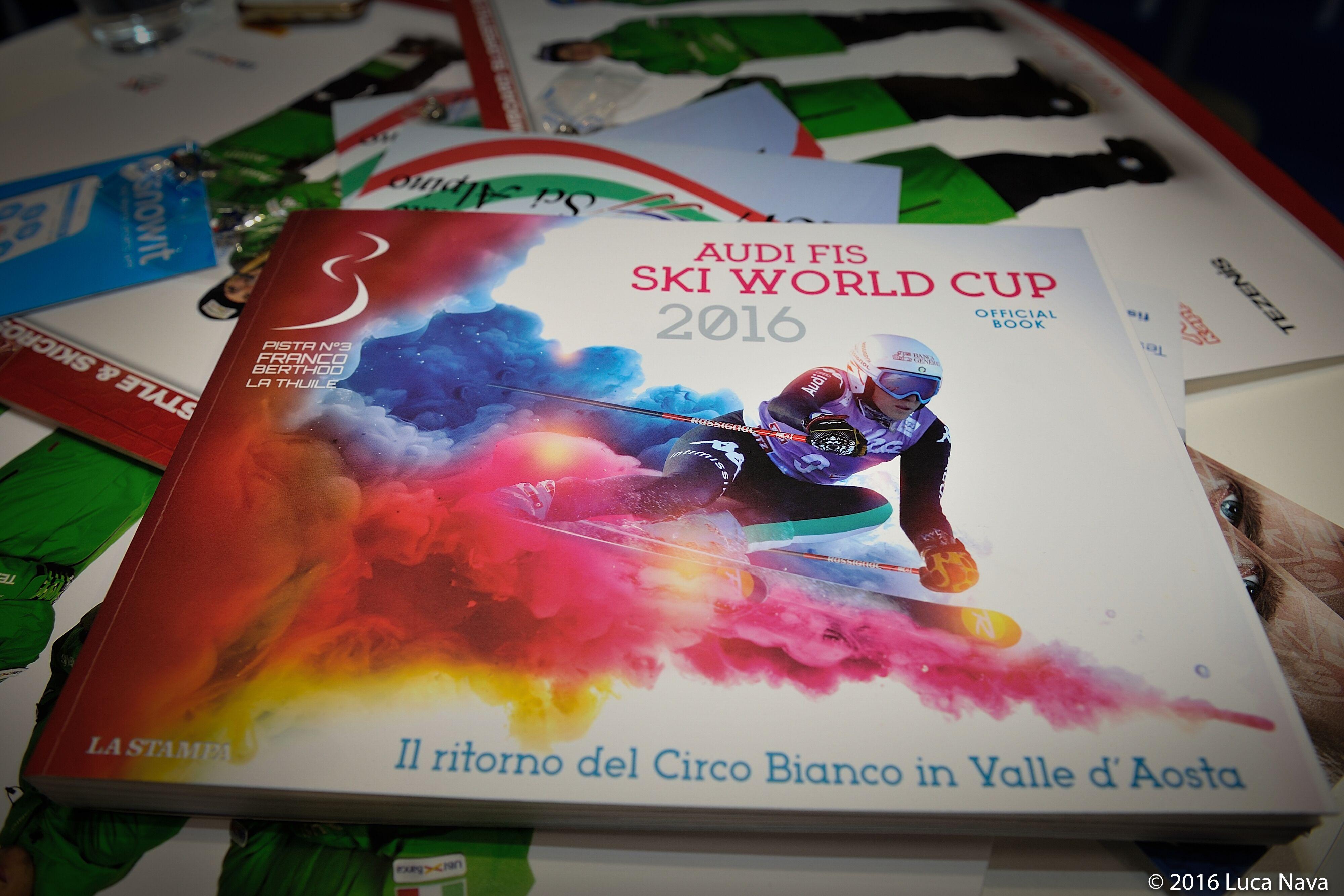 La Thuile: il libro della Coppa del Mondo di sci