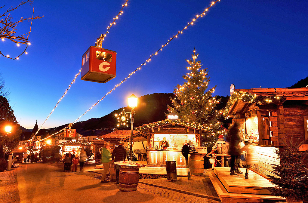 Natale a Selva di Val Gardena