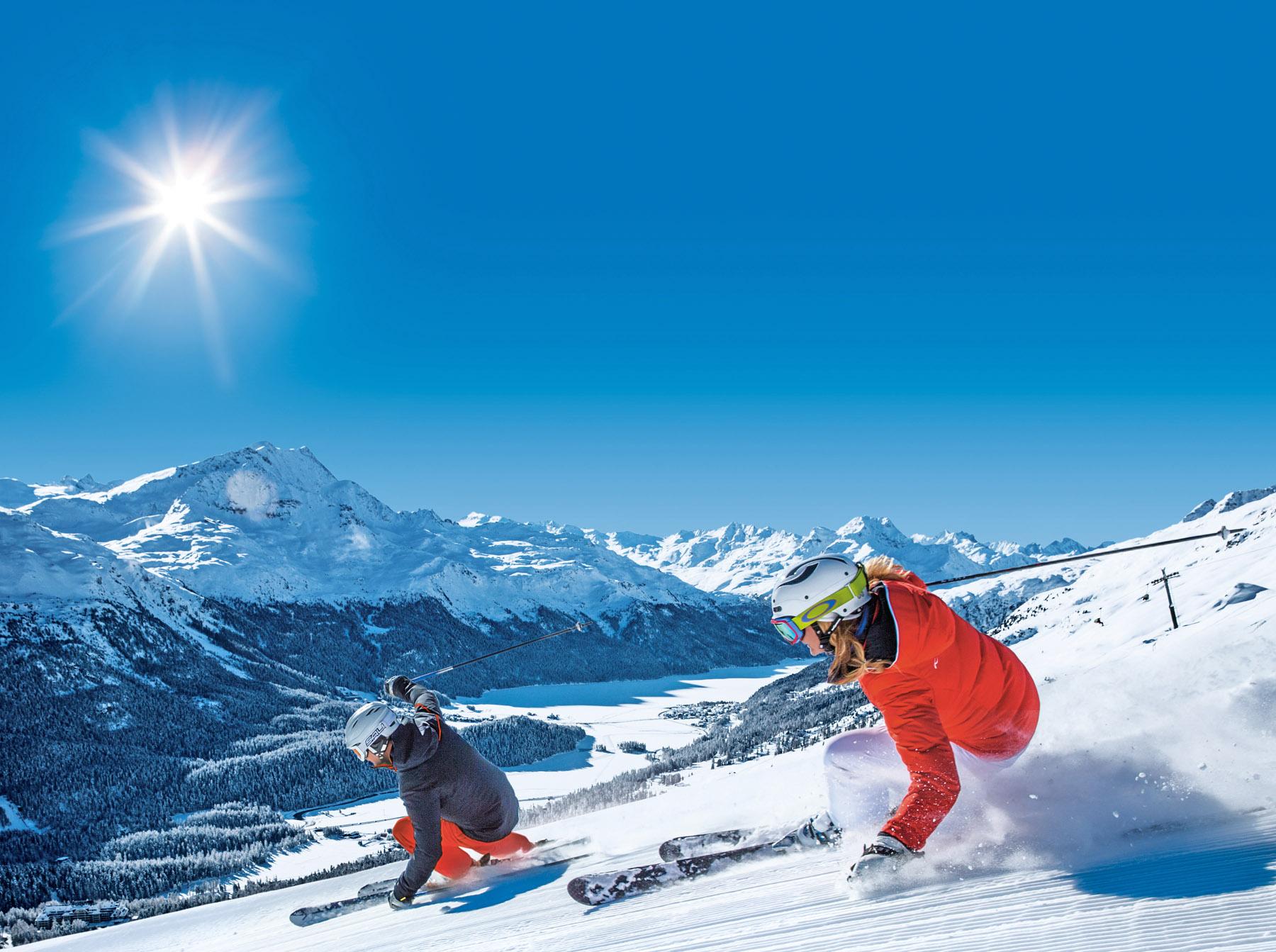 Sciare in Engadina: piste aperte dall'8 dicembre