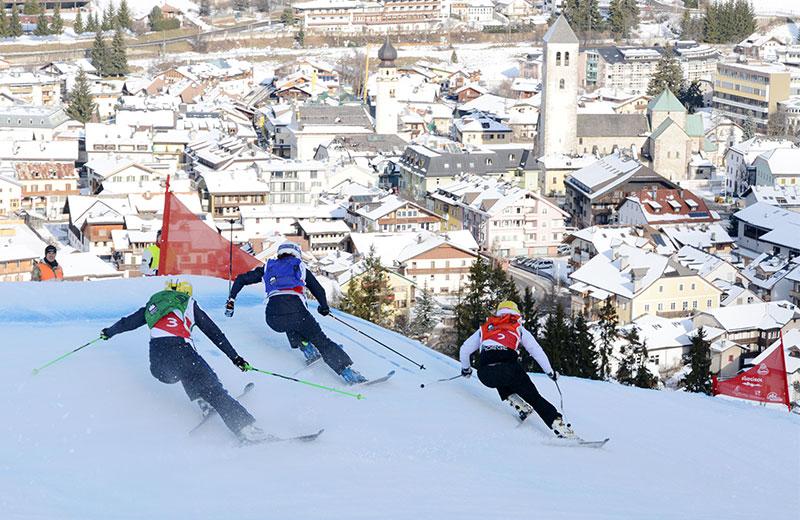 Skicross a San Candido Alta Pusteria