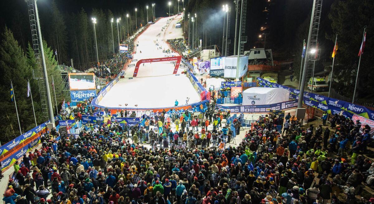Slalom 3Tre a Madonna di Campiglio