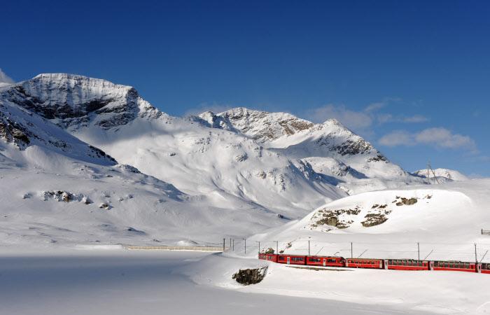 Con il Treno Rosso a sciare