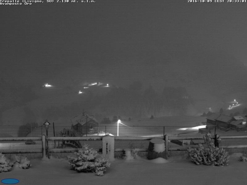 Nevicata a Trepalle, 9 ottobre 2016