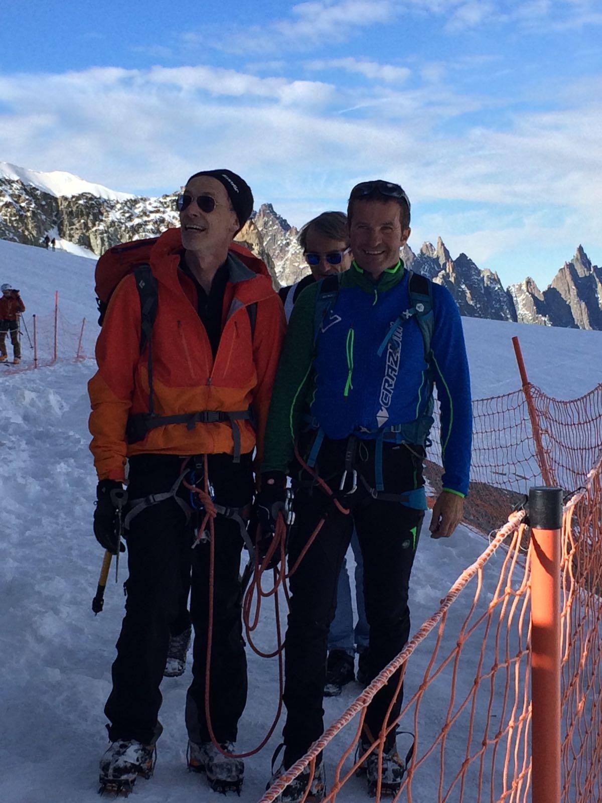 Alpinismo: aperta nuova via sulle Aiguilles Marbrées