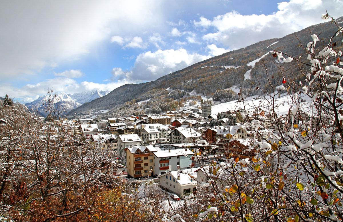 Nevicata ad Aprica