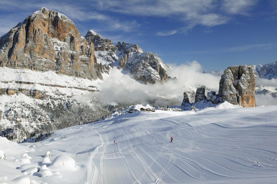 Pista da sci di Cortina