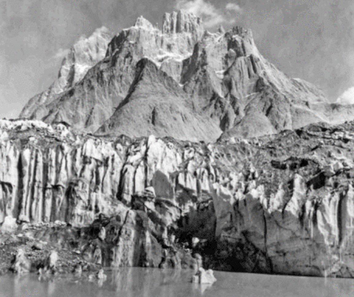 Cattedrali di ghiaccio. Mostra ad Aosta