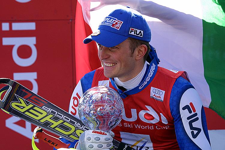 Manfred Moelgg torna nel primo gruppo di slalom