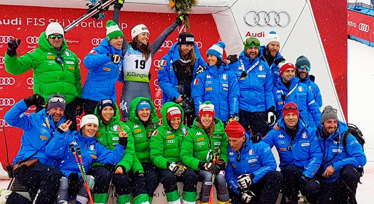 Killington: lo slalom gigante parla italiano