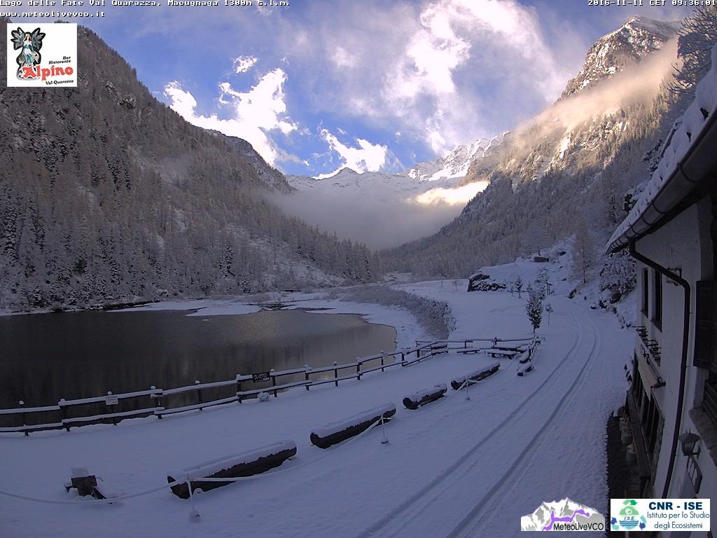 Lago delle Fate, Val Quarazza, Macugnaga, 11 novembre 2016