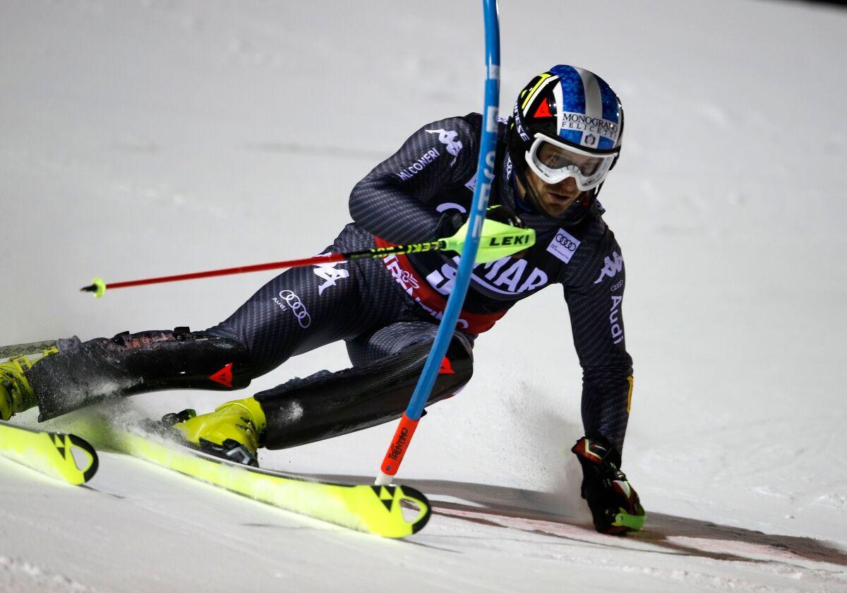 Coppa del Mondo di sci: allenamenti sulle Alpi