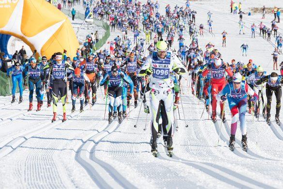 La partenza della Sgambeda 2016 a Livigno