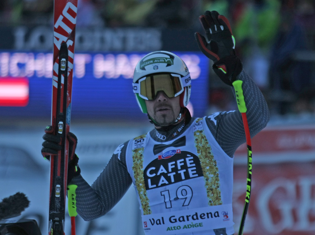 Peter Fill, supergigante Val Gardena 2016