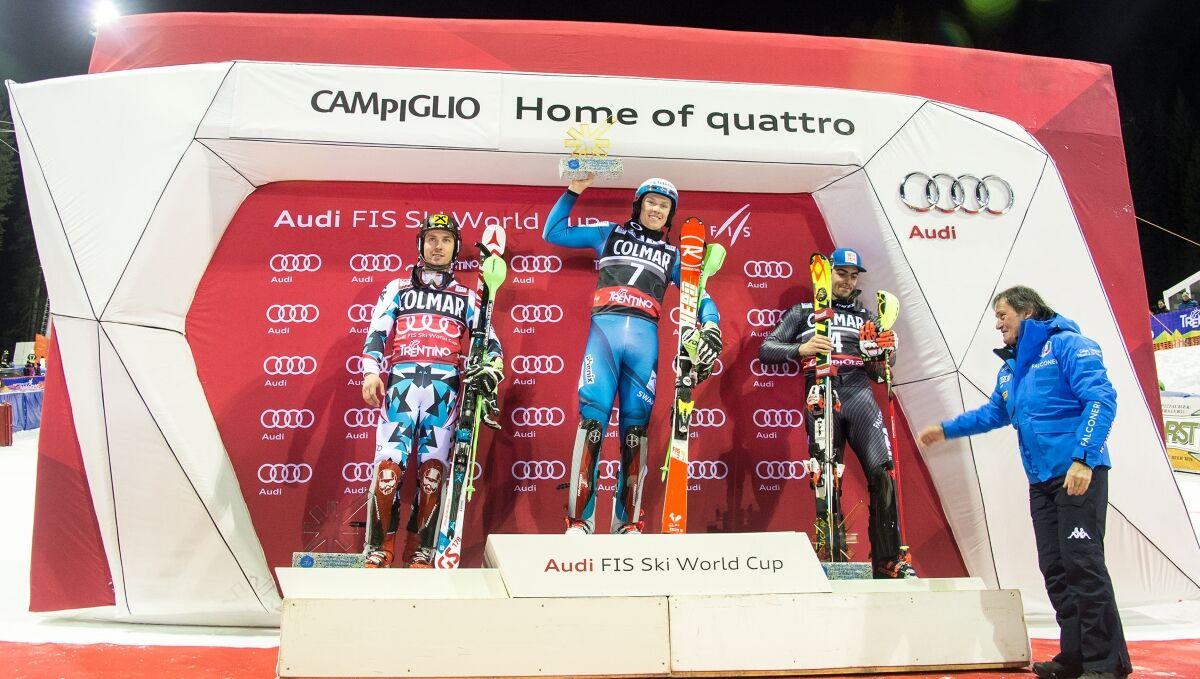 Slalom Madonna di Campiglio: classifica e fotografie