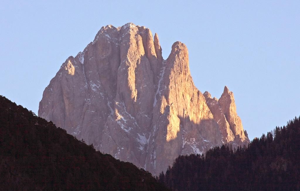 Il Sassolungo da Lajon, Val Gardena