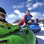 Kindergarten a Pampeago. Ski Center Latemar