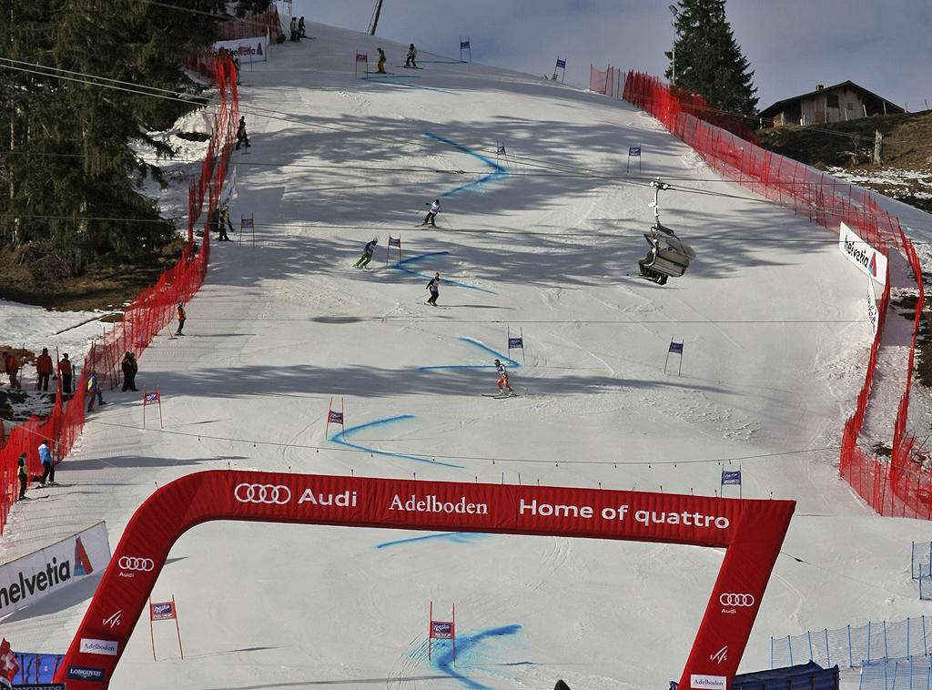 Slalom Gigante Adelboden: classifica. Vince Marcel Hirscher