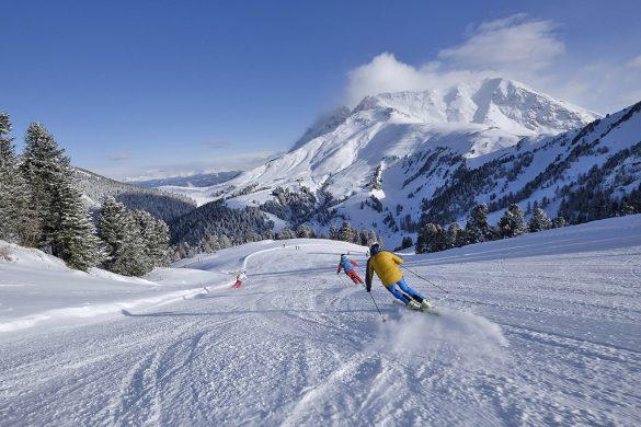 Ski Center Latemar in Val di Fiemme