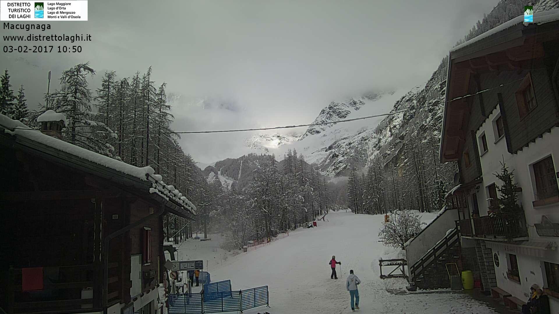 Nevicata intensa sulle Alpi