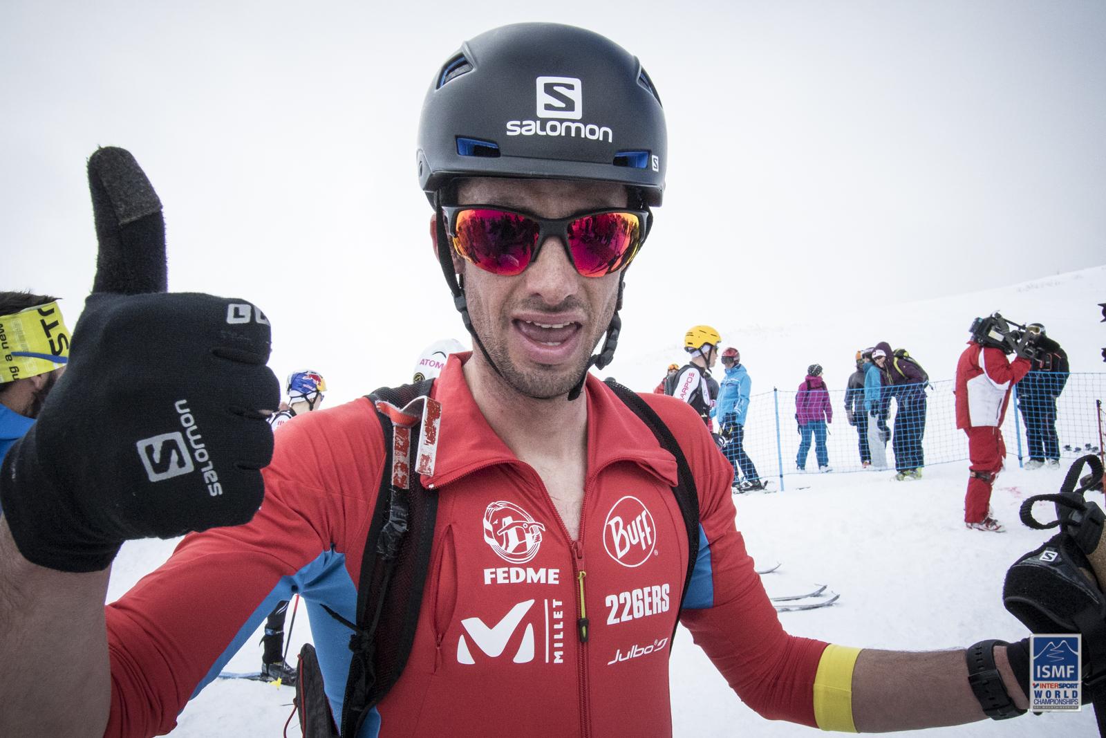 Kilian Jornet mondiale nella Vertical Race di Piancavallo