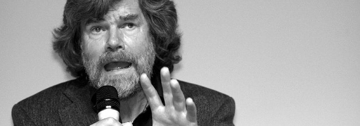 Reinhold Messner alla Fiera Walser di Macugnaga
