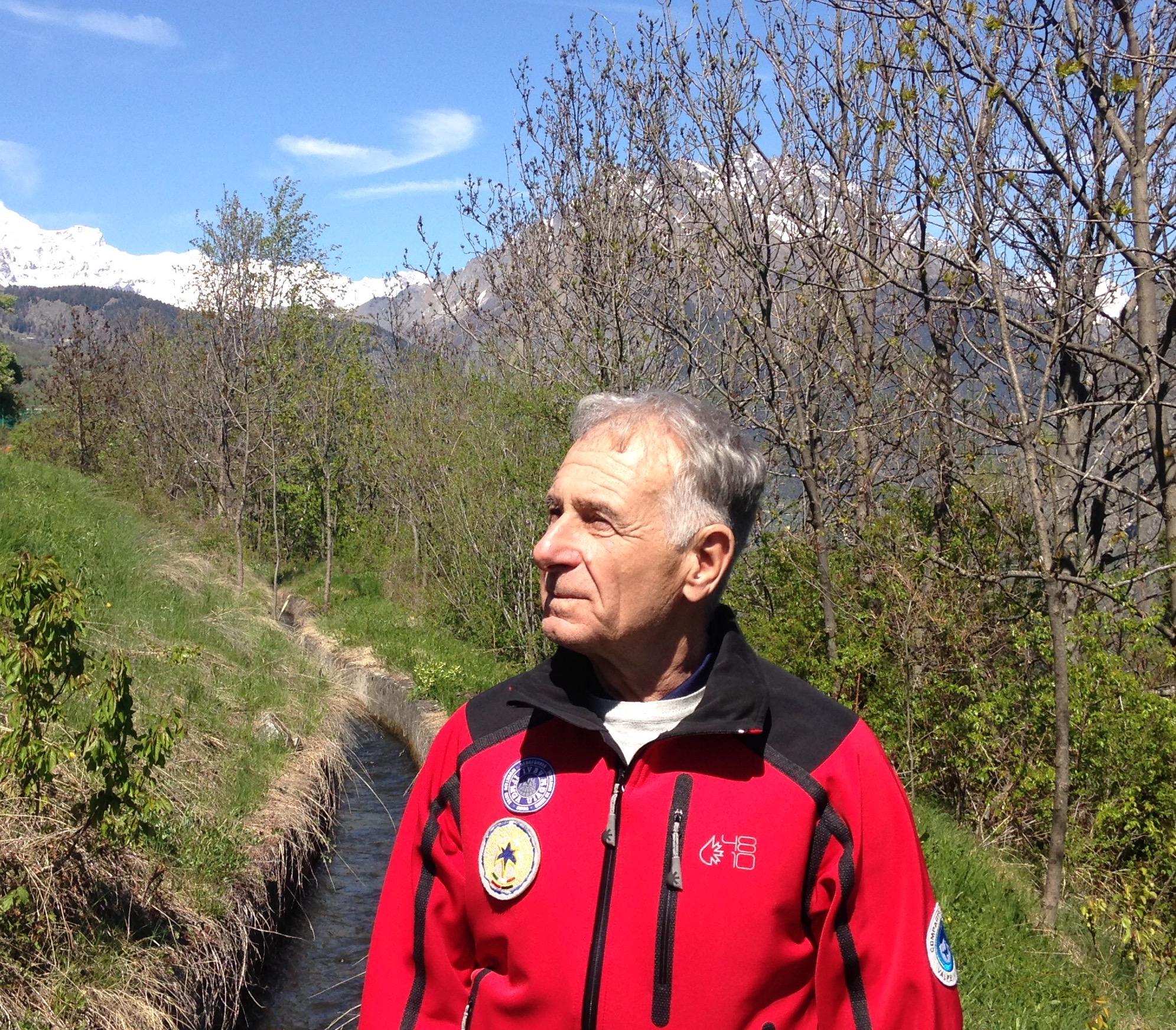 Pietro Giglio Presidente Guide Alpine Valle d'Aosta