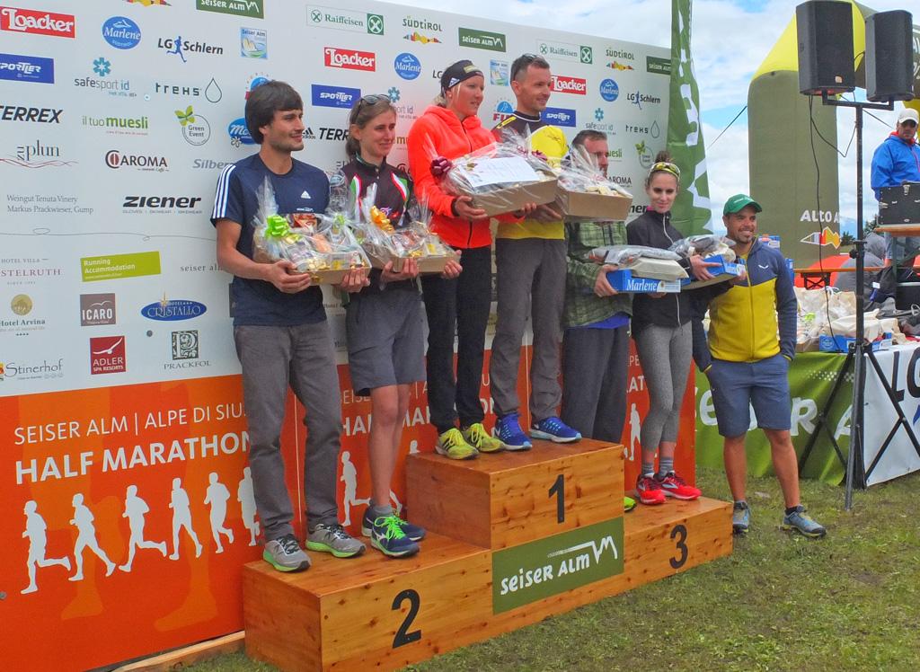 Mezza Maratona Alpe di Siusi: classifiche e fotografie