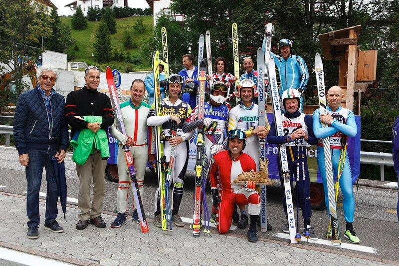 Fotografie 50 anni Coppa del Mondo sci Val Gardena