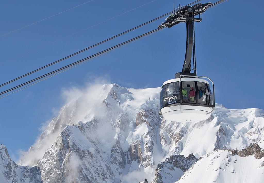 Funivia Monte Bianco: un sogno da vivere sulle Alpi
