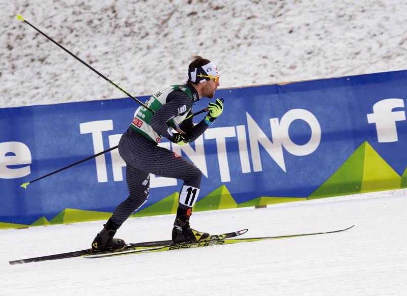 Alessandro Pittin in azione