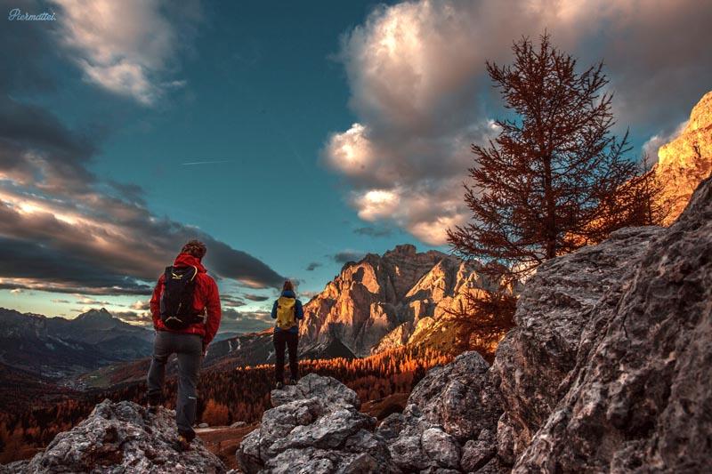 Dolomiti, camminare tra i colori dell'autunno - foto Piermattei