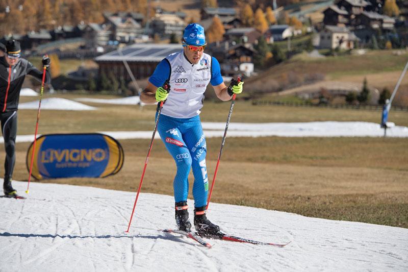 Federica Pellegrini lancia lo sci di fondo a Livigno