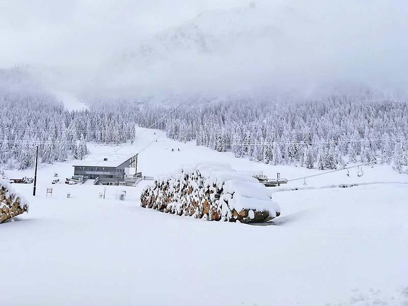 60 cm di neve al Col Margherita