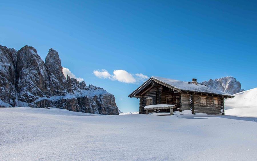 Neve in Val Gardena