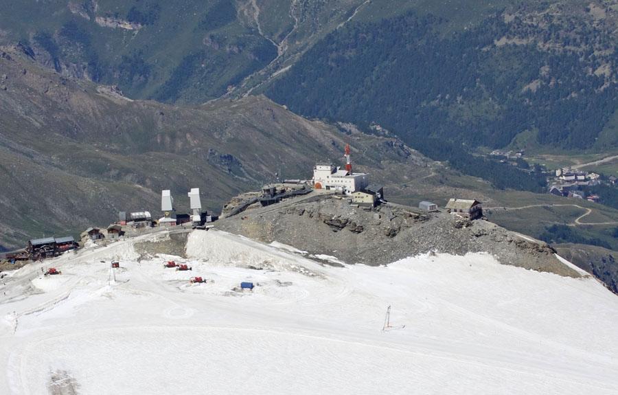 Plateau Rosà: stazione meteorologica a due passi dal cielo
