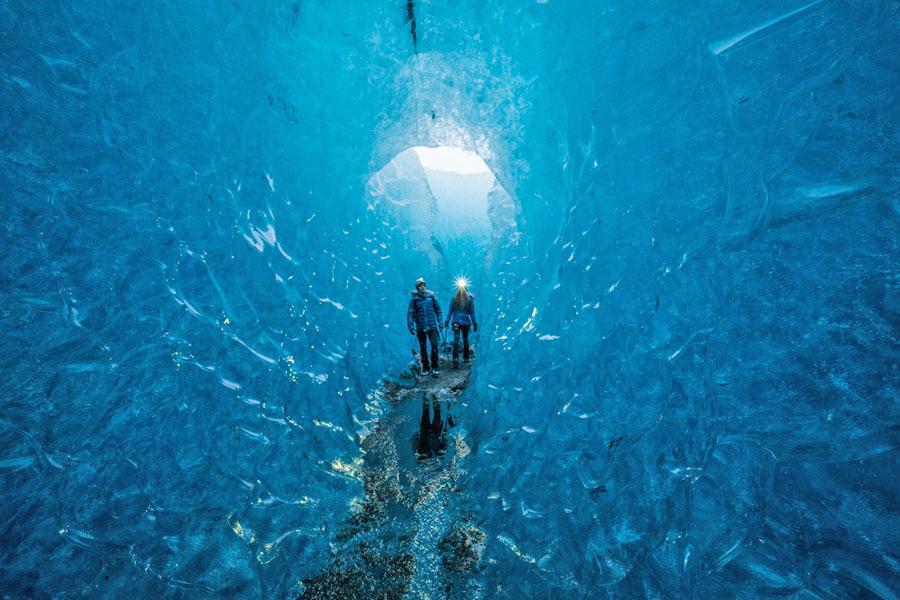 Test scarpone Canuk nei ghiacciai dell'Islanda