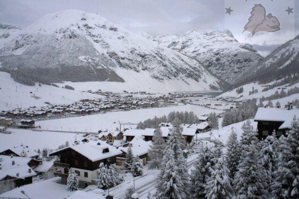 Neve in montagna - Webcam Livigno