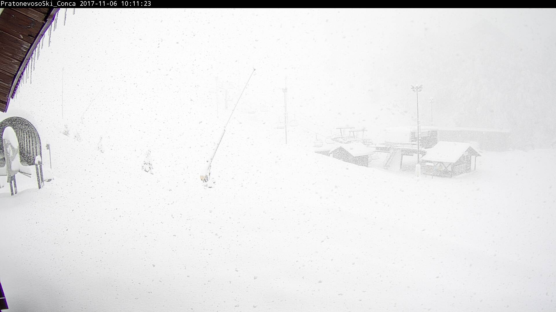 Neve in montagna - Webcam Prato Nevoso
