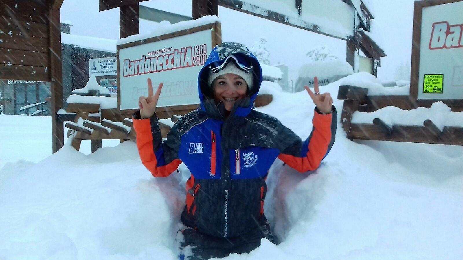 Grande nevicata a Bardonecchia