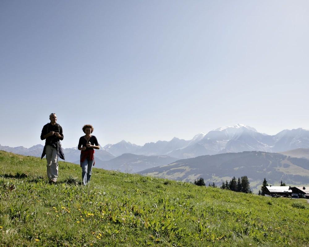 Megeve, estate sulle montatgne francesi della Savoia