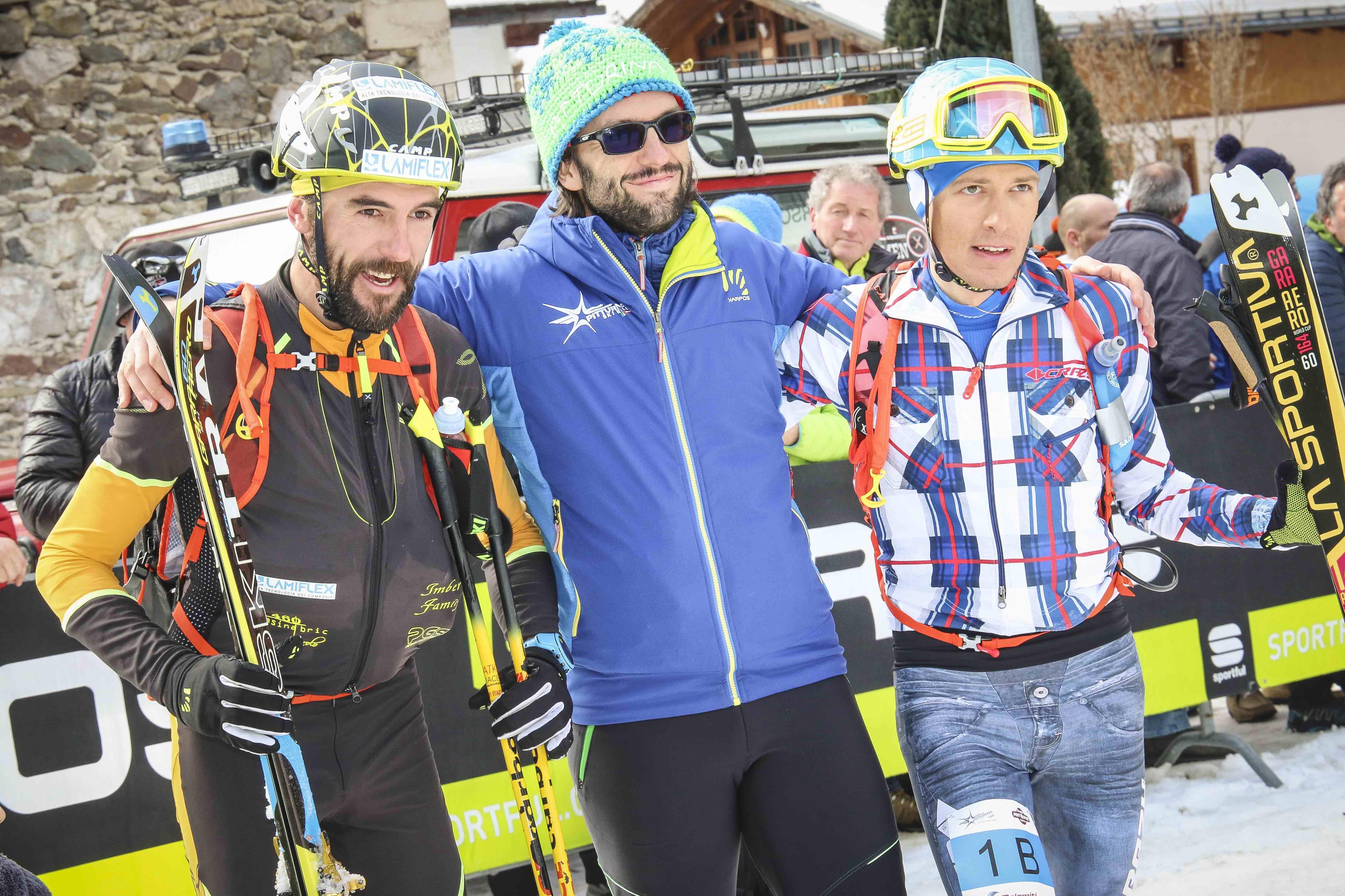 I vincitori della Pitturina Ski Race 2018