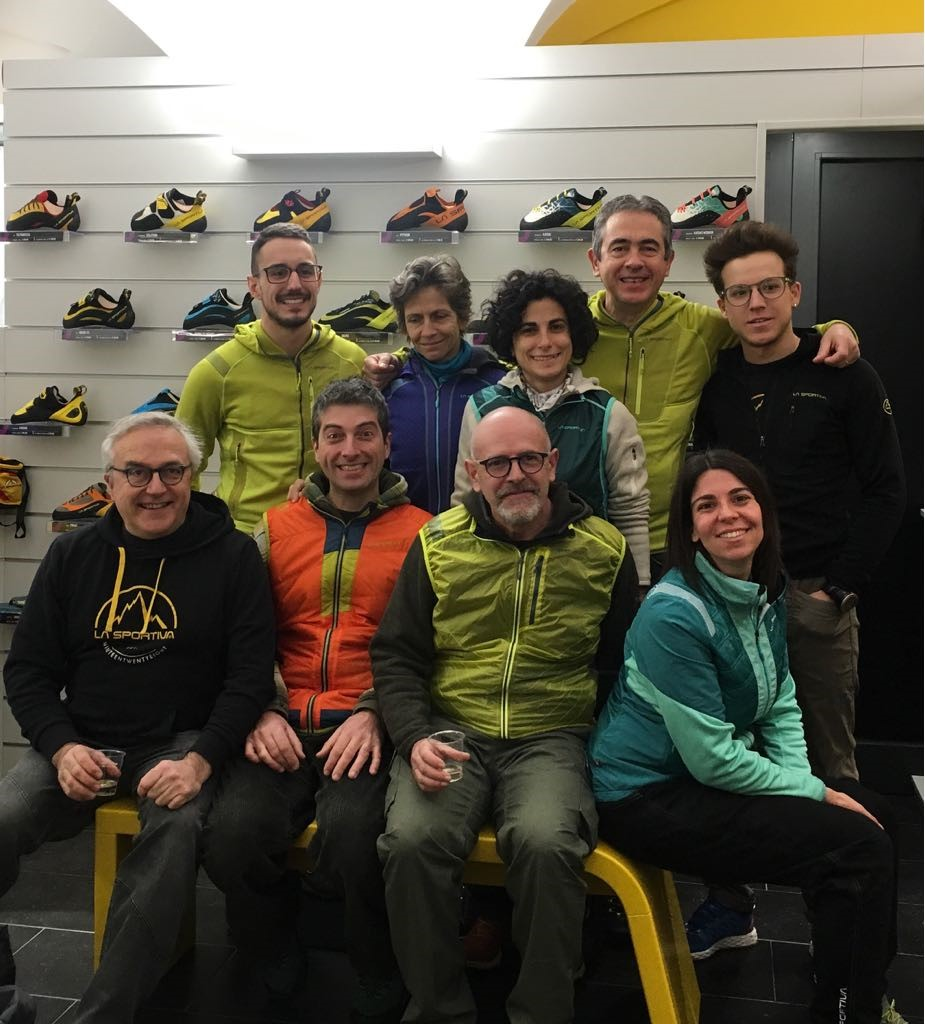 La Sportiva negozio a Finale Ligure: il Team