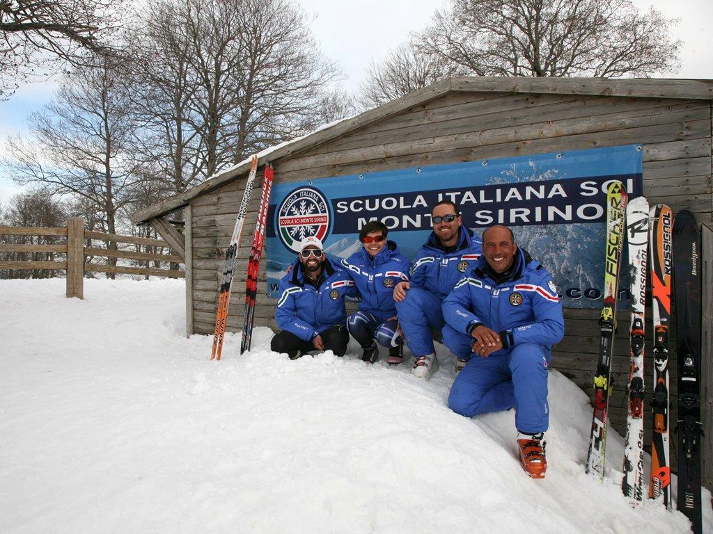I maestri di sci della Basilicata
