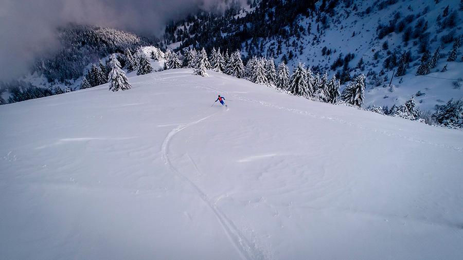 Prima Linea, gara di scialpinismo sul Monte Grappa
