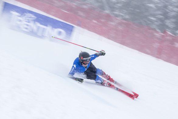 Sofia Goggia si allena in Val di Fassa
